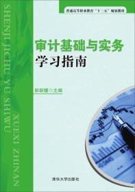 审计基础与实务学习指南 彭新媛 清华大学出版社 9787302399407