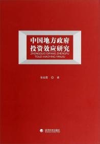 中国地方政府投资效应研究