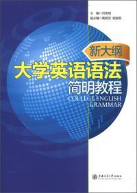 新大纲大学英语语法简明教程