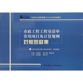 市政工程工程量清单常用项目及计算规则对照图释集 专著 邝森栋主编 shi zhe