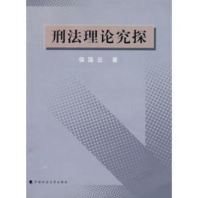 刑法理论究探