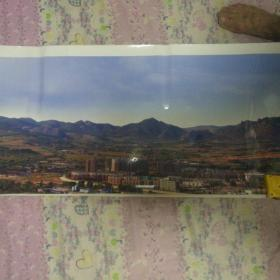 建平县叶柏寿镇全景照片(用手机3次分段排照)新上的书屋的家乡是座美丽的山城。