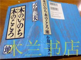 原版日本日文书 木のいち木の二ニろ(地) 小川三夫 (株)草思社 1994年2月 32开硬精装