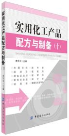 实用化工产品配方与制备(十)