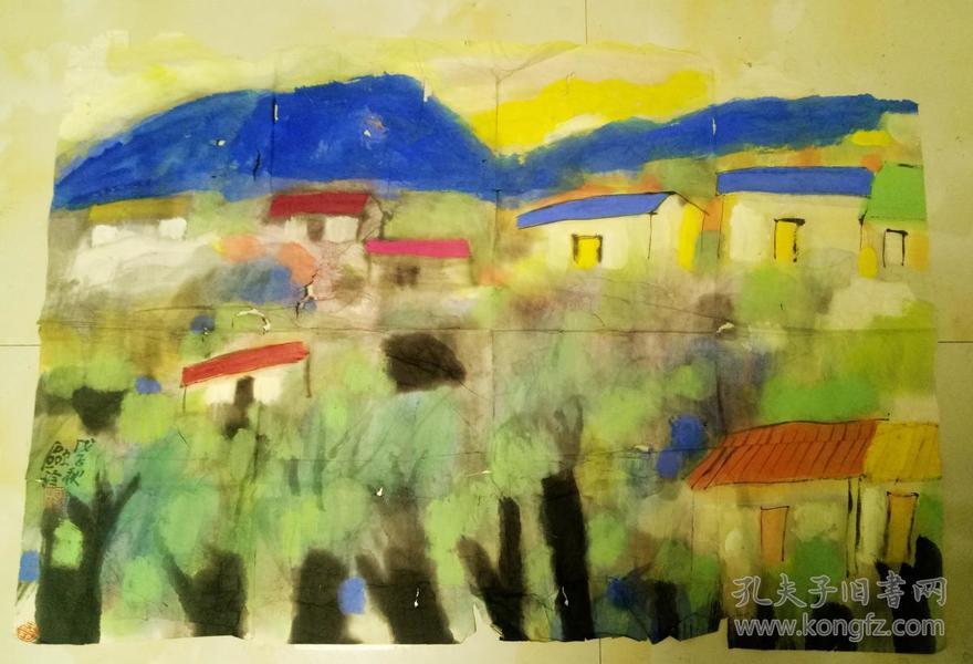 中国艺术研究院馆员 现代水墨画家 刘欧玲作品      【93×65厘米】