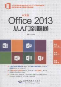 中文版Office 2013从入门到精通