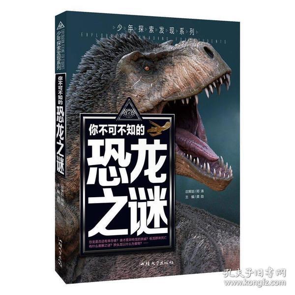 你不可不知的恐龙之谜 世界未解之谜 中小学生科普读物少儿百科三四五六年级课外阅读书 少年探索发现系列