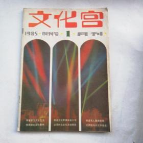 文化宫(1985年创刊号  1月刊)A14.4.19W