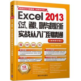 Excel 2013公式、函数、图表与数据分析实战从入门到精通实战从入门到精通