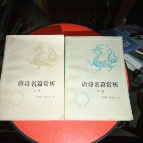 唐诗名篇赏析(上下册)
