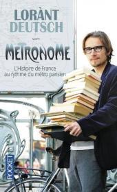 法国原版 法文 法语 Métronome - LHistoire de France au rythme du métro parisien 地下巴黎 巴黎地铁站的历史 小本