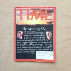 时代周刊 TIME 2004 november 1
