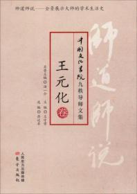 中国文化书院九秩导师文集-王元化