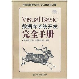 Visual Basic数据库系统开发完全手册