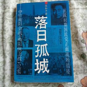落日孤城(湖南文艺出版社、93年一版一印、印数9390册)
