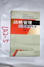 战略管理--艺术与实务(第三版)项保华 著