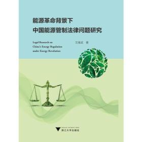 能源革命背景下中国能源管制法律问题研究