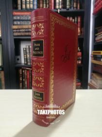 Pride and Prejudice 《傲慢与偏见》Jane Austen 简 奥斯汀 经典 Easton Press 1996年真皮精装限量版