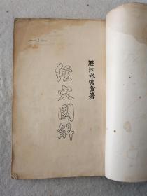1953年《解图穴经》一册