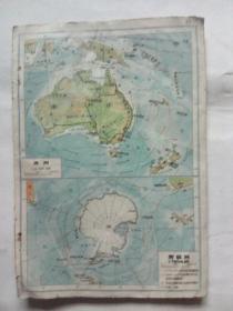 澳洲丶南极洲地图