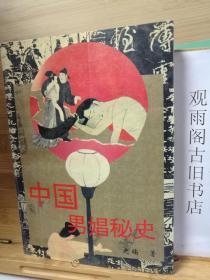 (正版 一版一印)中国男娼秘史