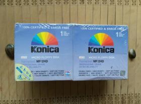 日产Konica柯尼卡3.5寸软盘 1.44M MF2HD高密度软磁盘