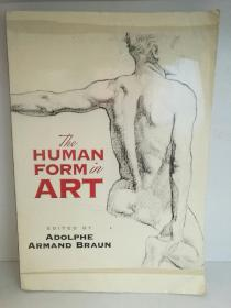 The Human Form in Art  (绘画)英文原版书
