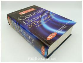 柯林斯简明词库字典辞典词典 Collins Concise Dictionary and Thesaurus: Concise