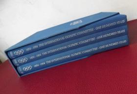 国际奥委会一百年  英文版