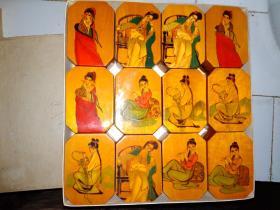十二金钗装饰盒(一盒内有12个)5.7X8.4X6CM