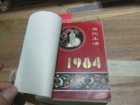 文化生活台历【1984年】