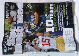 Sports Illustrated 英文体育画报杂志 2014/01/27 外文学习资料