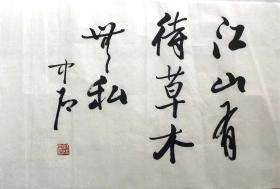 著名书画家*中石*书法*2522
