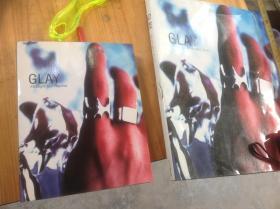 日版明星写真集《glay》,买小的送大的 两本哦,再送两本杂志(有较多glay的内容)
