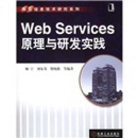 WebServices原理与研发实践 顾宁刘家茂柴晓路 机械工业出版社 2006年01月01日 9787111174615