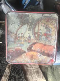 怀旧七八十年代月饼盒