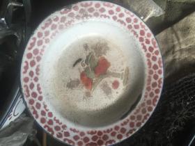 文革搪瓷盘 一组