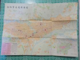 洛阳市交通旅游图1993年版