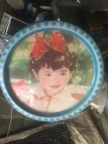 怀旧七八十年代 小女孩糖果盒