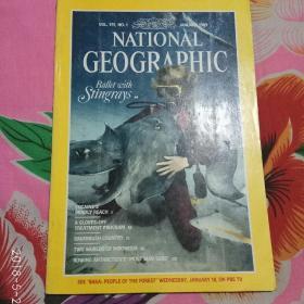 NATIONAL GEOGRAPHIC:美国国家地理英文版1989年