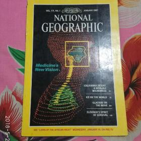 NATIONAL GEOGRAPHIC:美国国家地理英文版1987年
