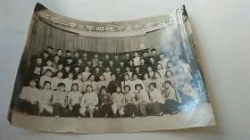 照片 四平二中三年四班毕业纪念 58.7.22