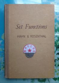 正版85新 Set Functions 集函数 1948年 英文原版 硬精装本