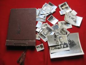 原照50年代黑白老照片43张.影集祖国工业化大跃进时代。真老