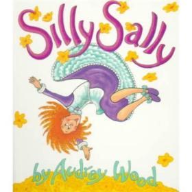 Silly Sally Board Book倒着走的女孩 英文原版
