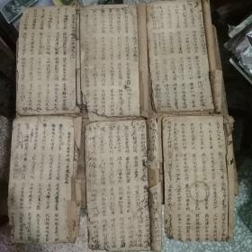 稀见原版戏曲文献,潮州歌册,新造泰山圣母议破六奇阵    全六卷