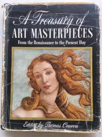 A Treasury of Art Masterpieces: From the Renaissance to the Present Day 艺术杰作的宝库