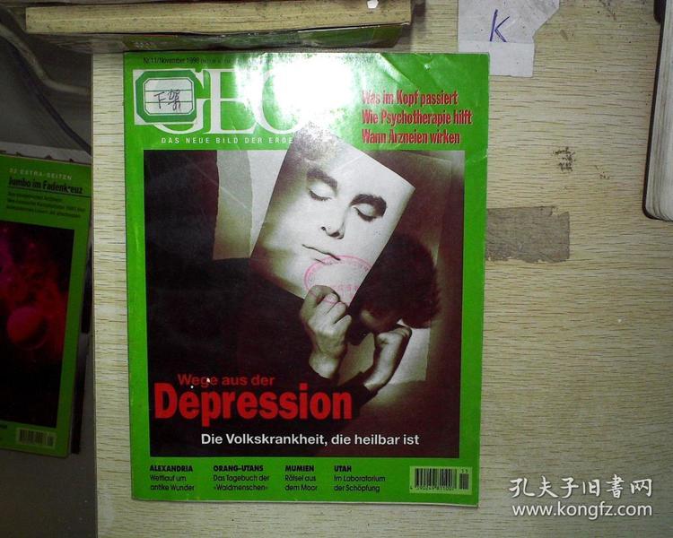 GEO MAGAZIN(1998  11 )(外文地理)   02