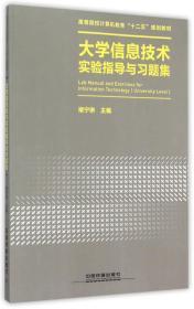 大学信息技术实验指导与习题集 褚宁琳 中国铁道出版社 97871