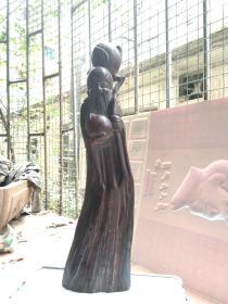 紫檀木雕寿星公。先鉴定后买售出不退换。